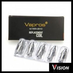 Vision Spinner resistors for e-cigarette atomizer