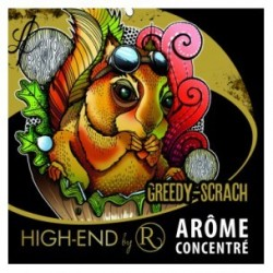 Concentrated aroma Greddy Scrath aroma revolute in Belgium purchasing cheap