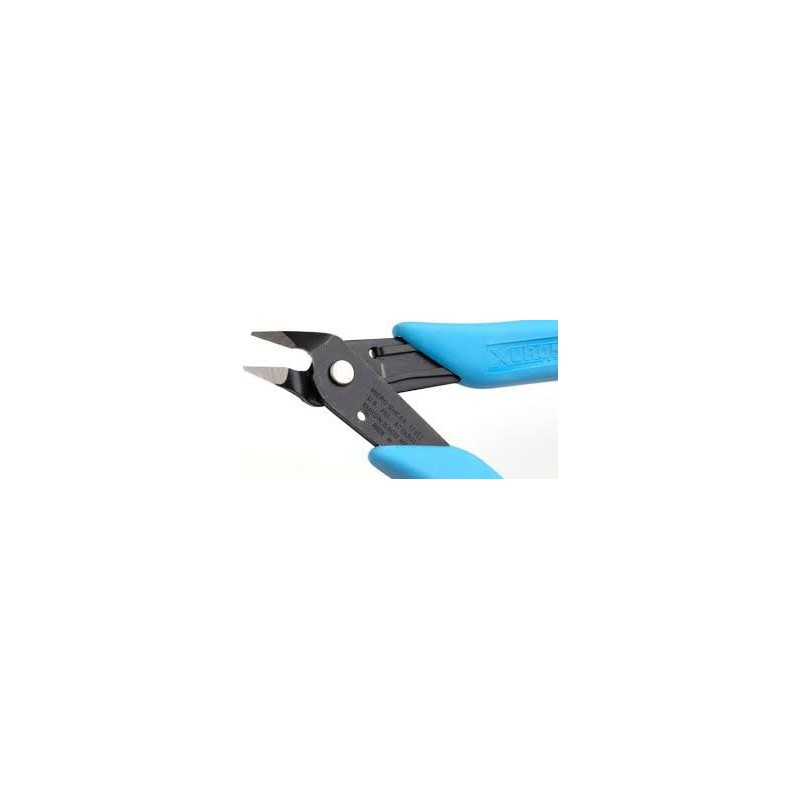 Pliers cutting Xuron cut easily its coils for mounting