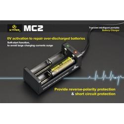 Chargeur accus XTAR-MC1