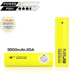 Mxjo Accu Imr 18650/3500 MAH for mids mechanical and electronic
