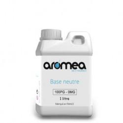 Boutique en ligne base Diy Aromea 1L 100% PG