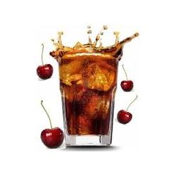 e-vloeistof cherry coke fris en helemaal niet duur.