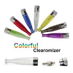 Atomiseur H2 pour e-cigarette et batterie ego de cigarette électronique.