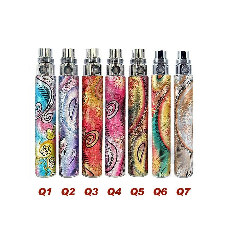 Batterie ego pour cigarettes électroniques pour vapoteurs.