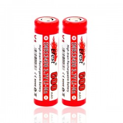 Efest battery imr 13450 - 600 mah