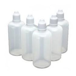 100 ml flessen e-vloeistof en diy