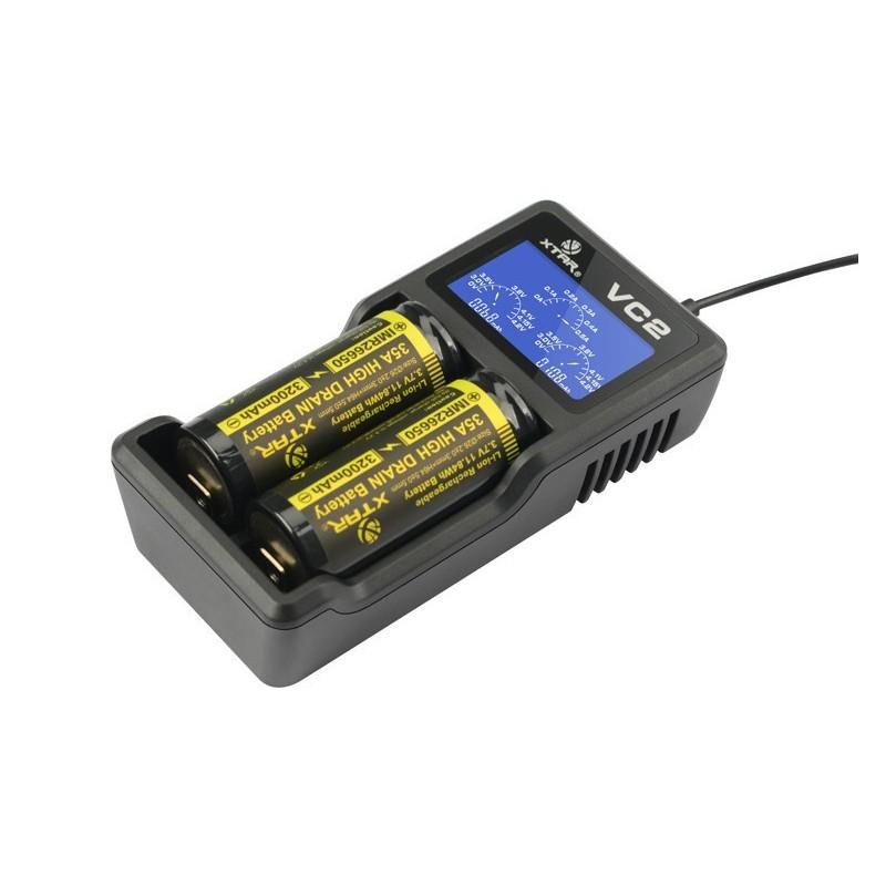battery charger xtar-vc2 brussel luik namen