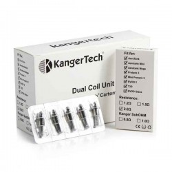 resistors dual coil unit kangertech for clearomizers for sale