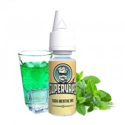 Supervape arôme diy Soda Menthe Bio Pour vapoter au soleil a Erquenne.