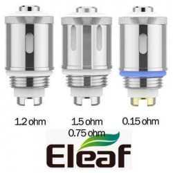 Résistances GS Air Eleaf en stock sur La Vapote