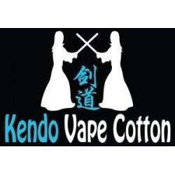 Coton Kendo Vape - Gold Edition montage de coil sur dripper rda