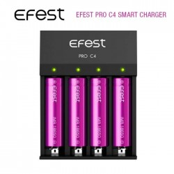 Efest Pro C4 Battery Charger for Electronic Cigarettes