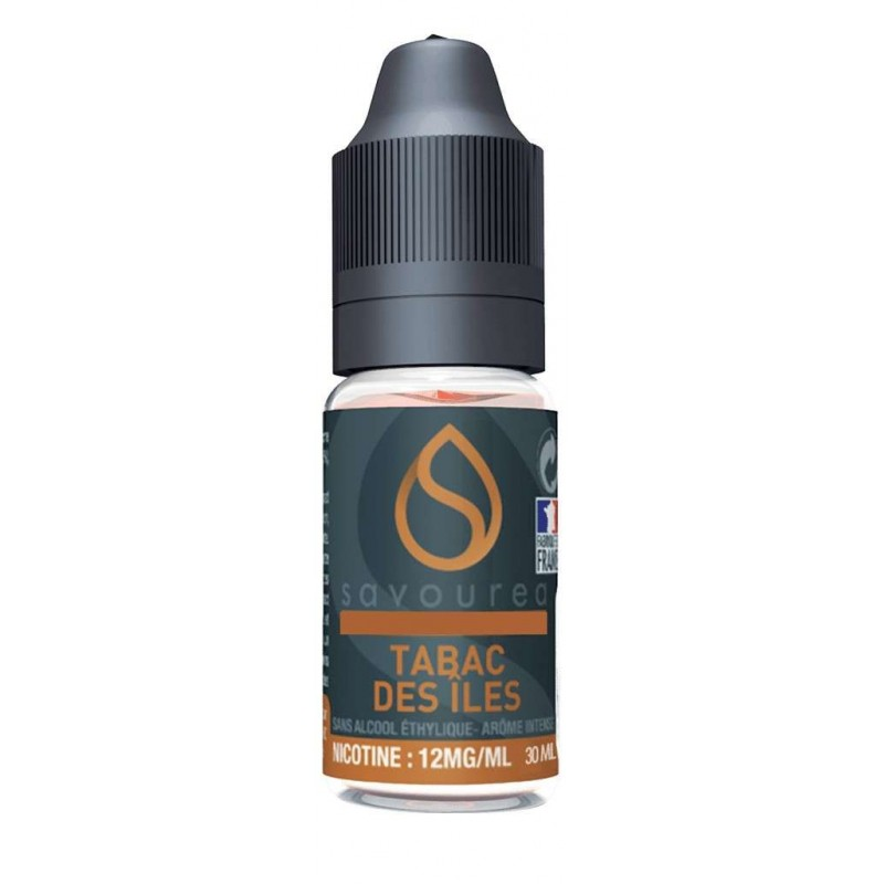 E-liquide Tabac Des Ïles Savourea bon prix