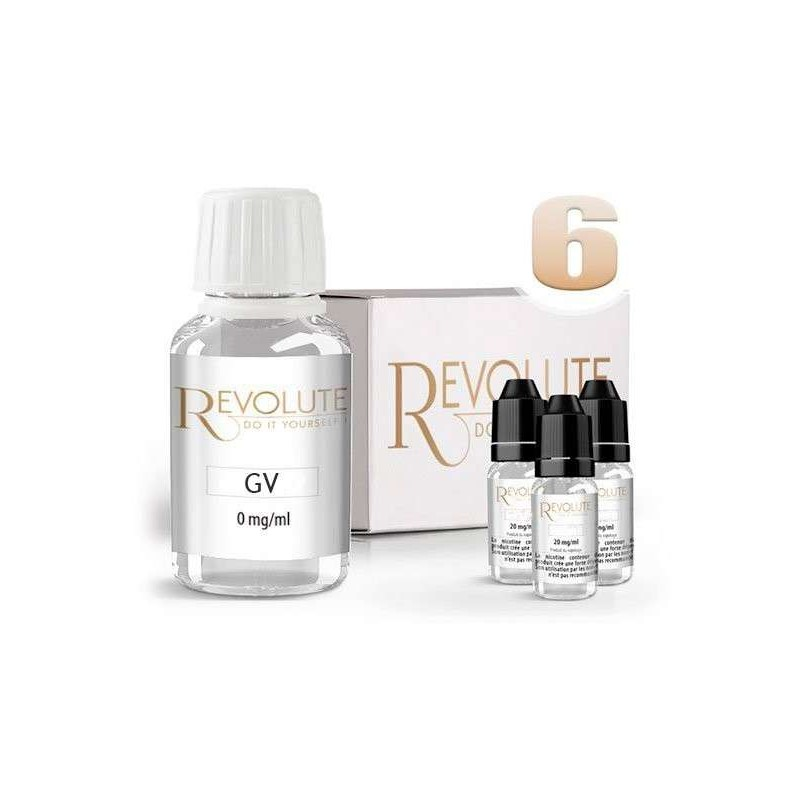 Pack Diy Revolute 100% VG-4 MG Bruxelles