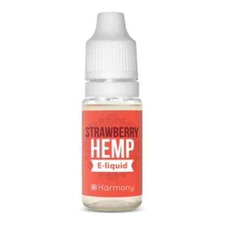 E-liquide chanvre CBD Strawberry Hemp Harmony ejoint Belgique