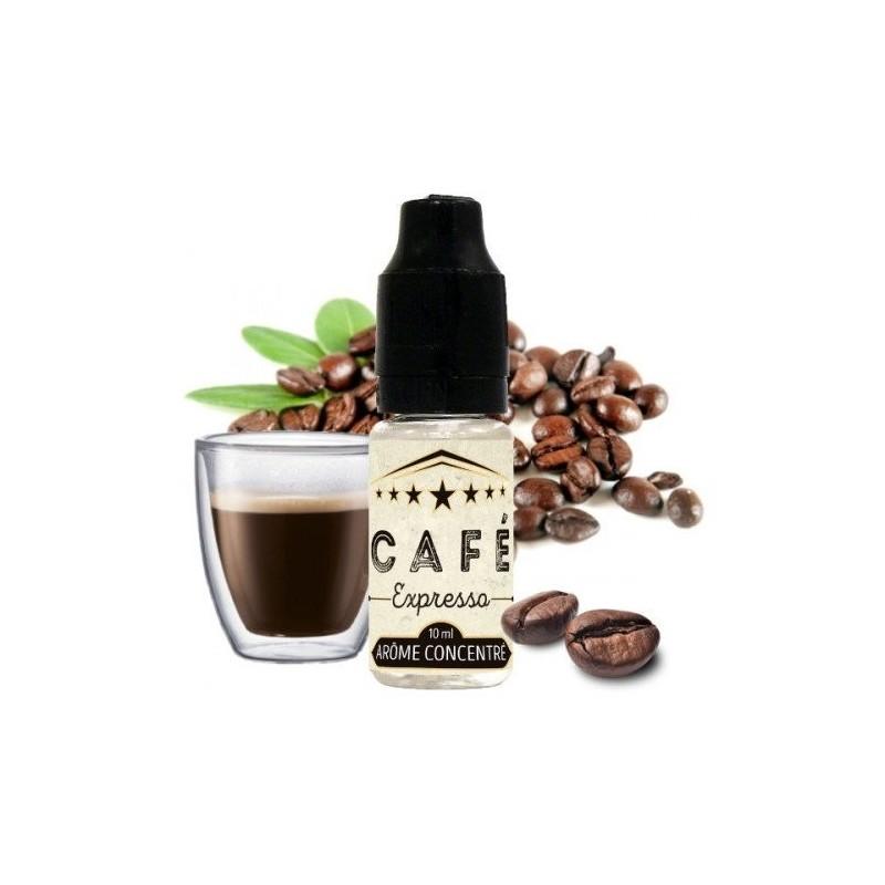 Arôme concentré café expresso vincent dans les vapes