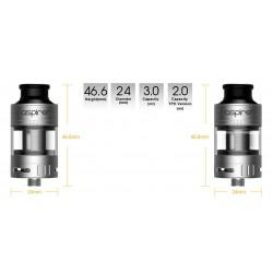 Le Cleito Pro 120, ergonomie et simplicité façon Aspire !