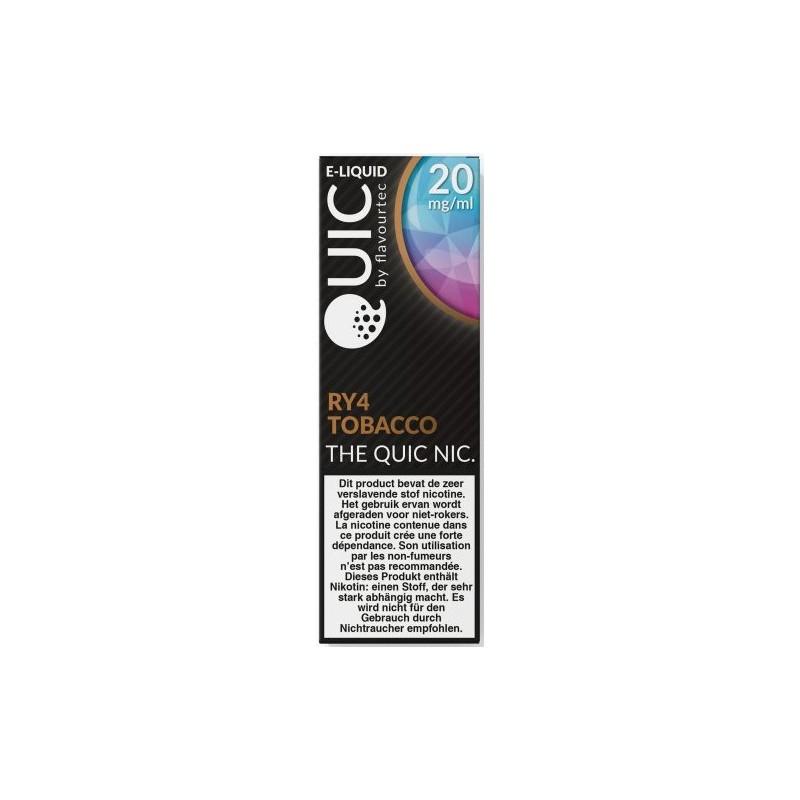 RY4 Tobacco NS/20 Flavourtec sels de nicotine achat