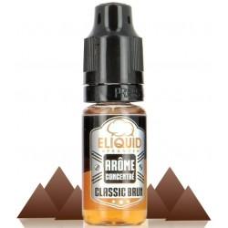 Classic Brun E-liquide France 10 ML, un classic brun chocolaté.