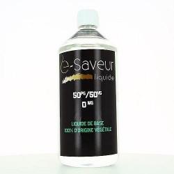 Base 50-50 E-Saveur 1L, base neutre pour le DiY.