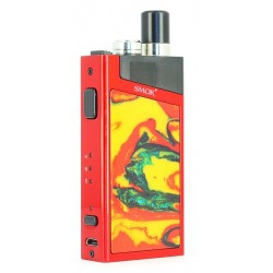 Kit Trinity Alpha Pod Smok, couleur rouge.