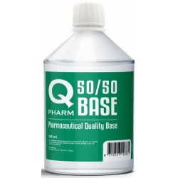 Base 1 litre Qpharm 500 ML, qualité pharmaceutique.