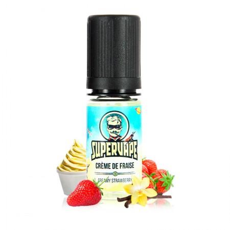 Crème De Fraise Supervape 10ML à vapoter à Ornes.