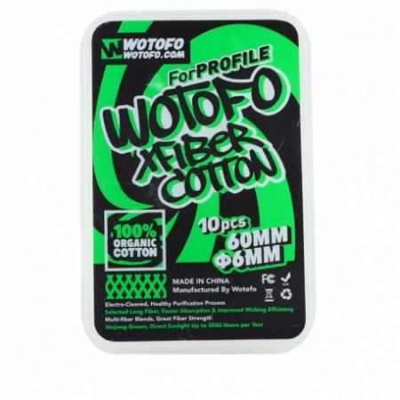 Lille, XFiber Cotton Wotofo vente en ligne boutique