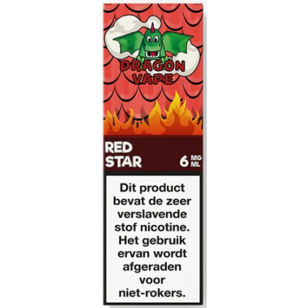 Red Star Dragon Vape 10ML, e-liquide Nantes