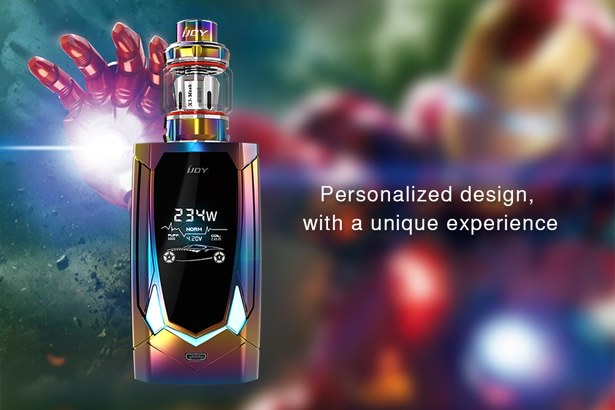 Leds Avenger kit Ijoy